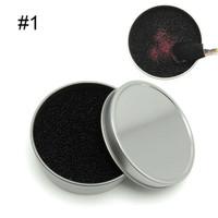 Box pembersih alat kuas makeup warna eyeshadow / brush