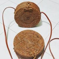 Jual tas ketak (rotan) lombok motif batik Murah