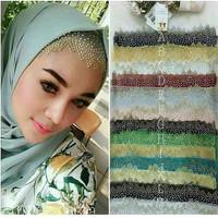 Inner tile diamond/bandana rajut/hijab