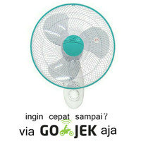 Kipas angin tembok/Wall fan Maspion MWF-41K