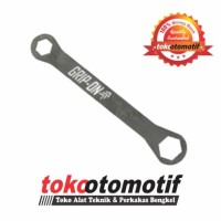 Valve Cover Wrench Straight 17-24mm / Kunci Tutup Klep