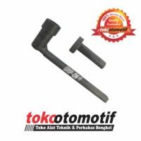 Valve Adjustable & Ring Spanner Wrench Set 10mm