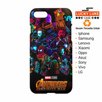 Avengers Infinity war case iphone 6 7 8 X 5 Samsung s9 s8 Plus Vivo v9