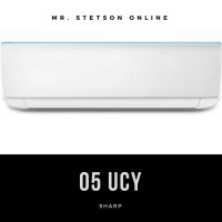 [UNIT ONLY] - SHARP 05 UCY AC SPLIT 1/2 PK STANDARD R32