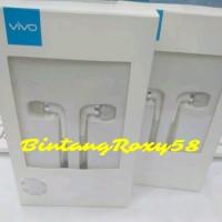 Headset Earphone Hp Vivo Original Model XE600 Ori Semua Tipe Bisa