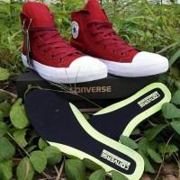 Sepatu Wanita - Converse CT All Star Hi Red White - GO