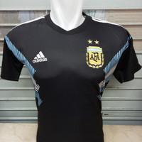 Jersey Argentina Away World Cup Piala Dunia 2018 Grade Ori