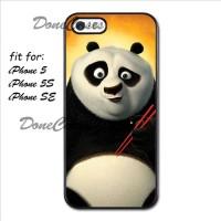 Casing iPhone 5 5S Kung Fu Panda Eating Hard Case Custom