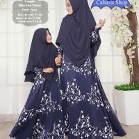 Couple Tasya/ Baju Muslim Ibu dan Anak Perempuan/ Gamis Syari