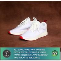 SEPATU ADIDAS NMD R2 WHITE RED BEST SELLER/NIKE/YEEZY/JORDAN/R2
