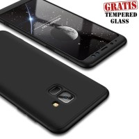 360 Hard Case Full Body Depan Belakang Casing HP Samsung A8 Plus 2018
