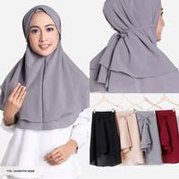 Jual Hijab Kerudung Jilbab Instan Khimar Rubiah Daily Aisyah KCB INSTAN QIA Murah