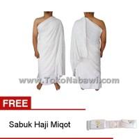 Kain Ihram Ihrom Pria FREE Sabuk Haji Miqot / Buy One Get One