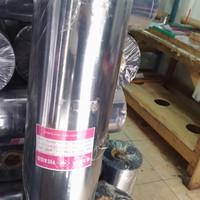 Plastik mika Rigid meteran tebal 0.20mm pembungkus souvenir.