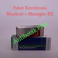 Ready Paket Shampo Muskrat dan Tonik MezogenRX Berkualitas