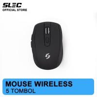 Mouse Wireless Slec NC20 - Black