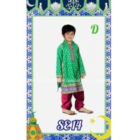 Jual EKSKLUSIF koko anak gamis anak pria laki laki baju muslim ABS3496