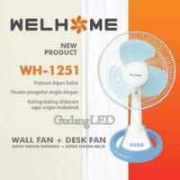 Kipas angin welhome - Desk fan welhome WH-1251 12 inch