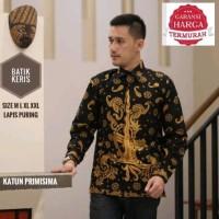 Jual Batik Solo Kemeja Pria Keris Jumbo Batik Amanah Surakarta Murah