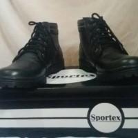 Jual safety boot wanita 100% kulit asli home made by sportex shoes bandung Murah