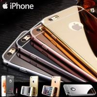 [SEMUA HP] LUXURY CASE BUMPER MIRROR IPHONE/SAMSUNG/OPPO/VIVO/XIAOMI