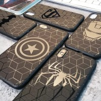 [SEMUA HP] SOFTCASE DC AVENGERS BLACK IPHONE/SAMSUNG/OPPO/XIAOMI/VIVO