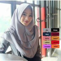 Jilbab Hijab Bergo Khimar Kerudung Carla Instan Murah Limited