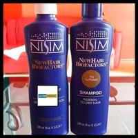 SHAMPOO HAIR GROWTH NISIM SHAMPO PENCEGAH RAMBUT RONTOK MENGATASI PRIA