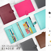 Binder Untuk Kuliah Kerja Buku Catatan 20ring Model A5 Custom Nama