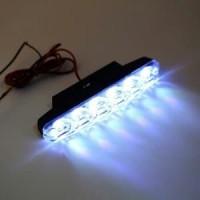 LAMPU DRL 6 LED  LAMPU SIANG MOBIL Yan bagus
