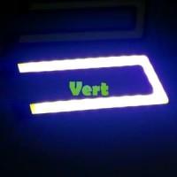 lampu led drl putih model U Terbaru