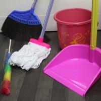 paket kebersihan alat bersih bersih sapu kain pel pengki ember