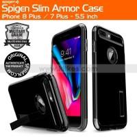 Spigen Slim Armor Case iPhone 8 Plus - 7 Plus - 5.5 inch - Jet Black
