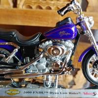 Jual Koleksi motor Harley Davidson Biru Maisto Murah