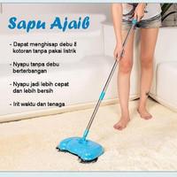 Super Broom alat sapu otomatis serbaguna kebersihan mop bukan bolde ma