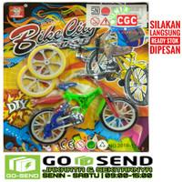 [GOJEK] Mainan DIY Sepeda Bike City Online  BMX Mini SNI