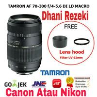 Lensa Tamron AF 70-300 mm For Canon Dan Nikon