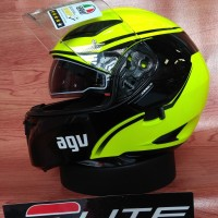 Helm AGV Compact Course Yellow (Helm Modular / Flip Up)