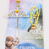 GS3072 4 in 1 BELLE ACC SET (BAJUKIDDIE) TIARA TONGKAT PRINCESS PUTRI