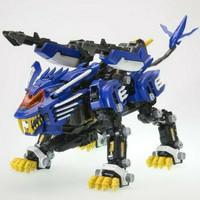 mainan model kit zoid MG blade liger ab bang blue