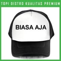 topi Biasa Aja Trucker Baseball Snapback TMB20 Distro Limited