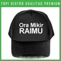 topi Ora Mikir RAIMU Trucker Baseball Snapback TMB35 Di Berkualitas