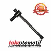 Kunci Stelan Klep Sliding Hitam Sepeda Motor KSK 04 WIPRO