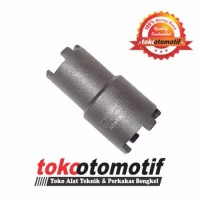 Kunci Mahkota Double / Treker Coupling Double 25 x 30mm WIPRO