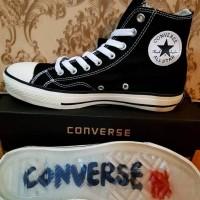 Sepatu Pria - Undefeated x Converse CT All Star Hi Black White - GO