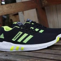 Sepatu Pria - Adidas Equipment 2 Black White Volt - GO