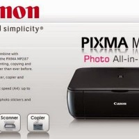 Printer Canon Pixma MP287 (Print, Scan, Copy), Garansi Resmi Canon