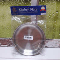 BIMA KITCHEN PLATE STAINLESS 16 CM / WADAH STAINLESS 16CM /BP0113316NP