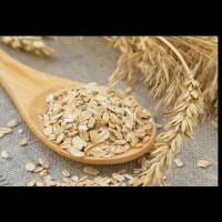 Natural Scrub Oatmeal 100gr - Lulur Bubuk Alami - Face & Body