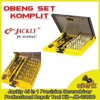 Obeng Set Komplit Jackly 45 in 1 Precision Screwdriver Berkualitas
